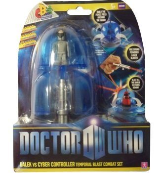 Doctor Who Temporal Blast Combat Set Dalek Vs Cyber Controller