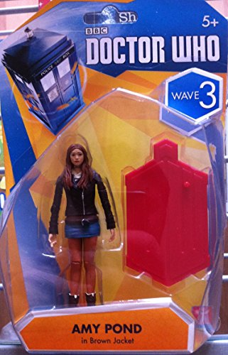 Doctor Who : 9cm Action Figure Wave 3 – AMY POND IN BROWN JACKET