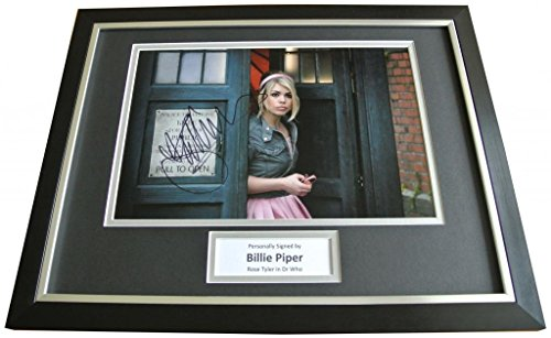 Sportagraphs BILLIE PIPER Signed FRAMED Photo Autograph 16×12 Display Dr Who Rose Tyler & COA PERFECT GIFT
