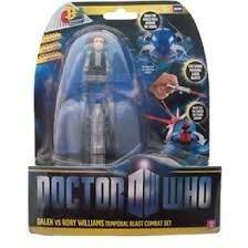 Doctor Who Temporal Blast Combat Set Dalek Vs Rory Williams