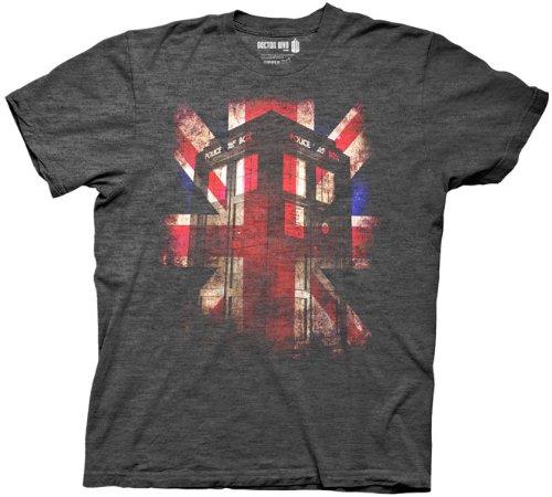 Doctor Who – Union Jack, X-Large