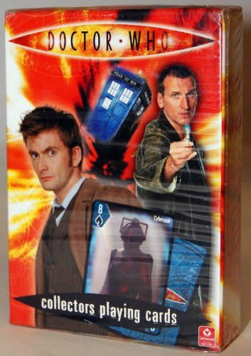 Doctor Who collectors playing cards