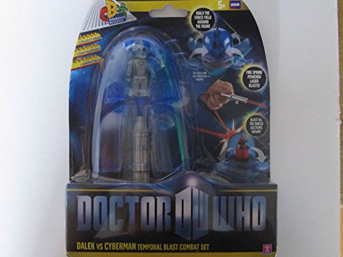 Doctor Who Temporal Blast Combat Set Dalek Vs Cyberman