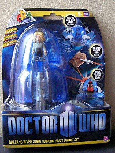 Doctor Who Temporal Blast Combat Set Dalek Vs River Song
