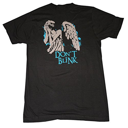Dr Who Weeping Angels (Whatever You Do) Don't Blink US Import OFFICIAL T-Shirt – X-Large