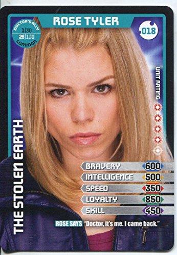 Doctor Who Monster Invasion Card #018 Rose Tyler