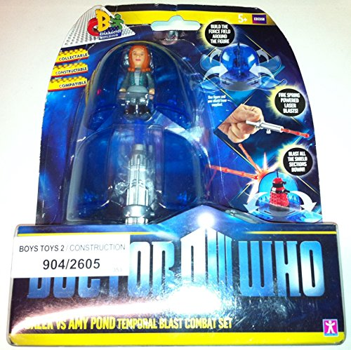 Doctor Who Temporal Blast Combat Set Dalek Vs Amy Pond