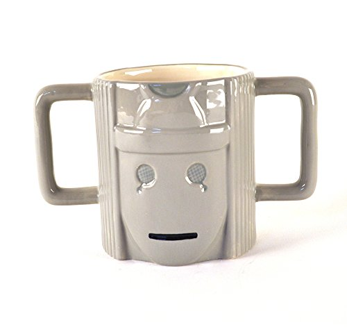 Dr Who Cyberman Shaped Mug