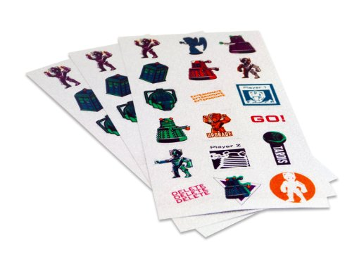Doctor Who Sticker Mixed Set, Multi-colour