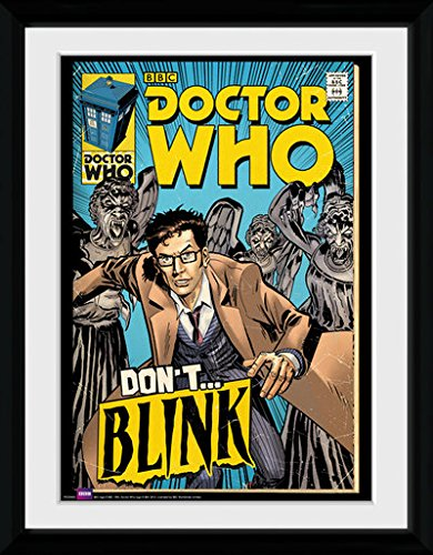 GB eye 16 x 12-inch Doctor Who Weeping Angels Comic Framed Photograph