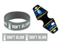 Doctor Who DW Don't Blink Wristband