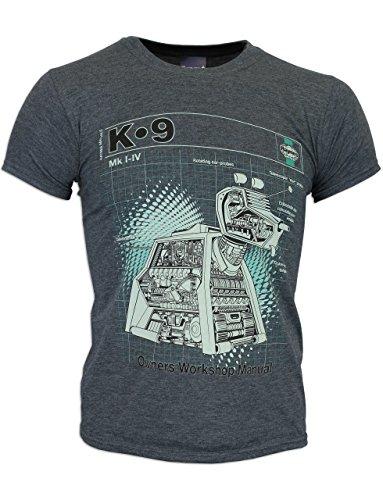 Character Mens Doctor Who Haynes K-9 T-shirt Size Medium