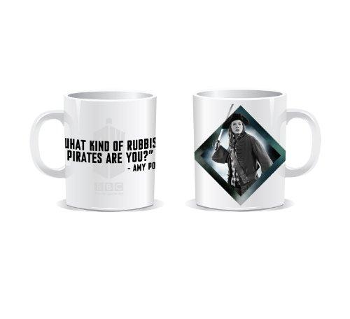 Doctor Who Amy Pond 'Rubbish Pirates…' Boxed Mug
