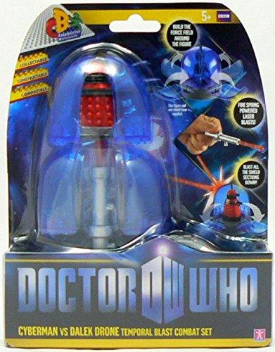Doctor Who Temporal Blast Combat Set Cyberman VS Dalek Drone