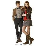 Doctor Who The Doctor & Amy Pond 180cm Cardboard Cutout