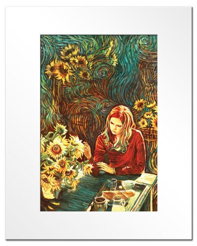 Doctor Who Amy Pond (Karen Gillan) 'The Song of Your Sadness' Lithograph Fine Art Print