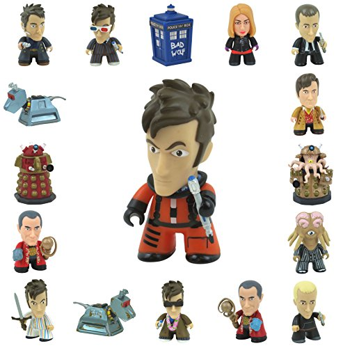 Doctor Who 3 Inch Collectible Vinyl Figures – Wave 5 Gallifrey – Choose Your Character (10th Doctor SB6 (2/20) Spacesuit)