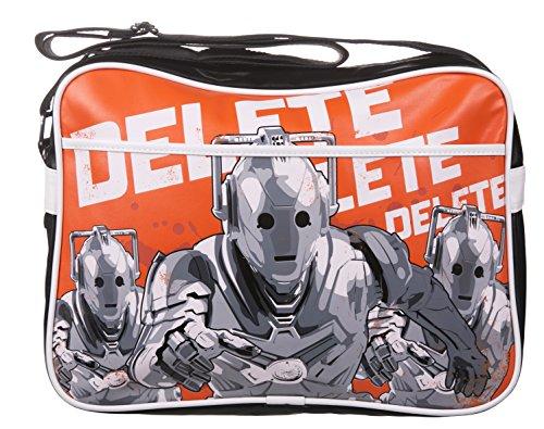 Retro Cybermen Doctor Who Messenger Bag