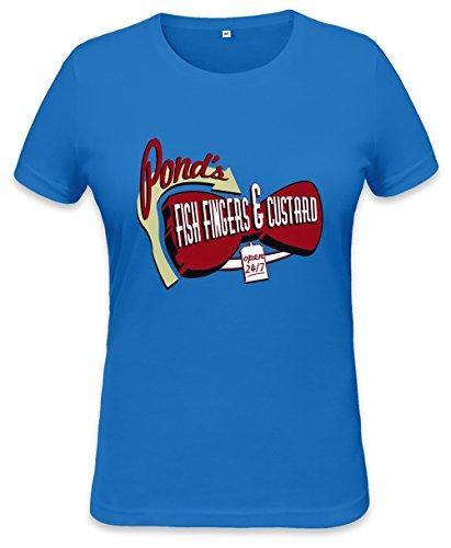 Fish Fingers & Custard Womens T-shirt Medium