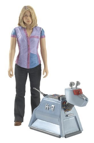 Doctor Who Rose Tyler and K-9 Action Figure Set by Character Options Ltd