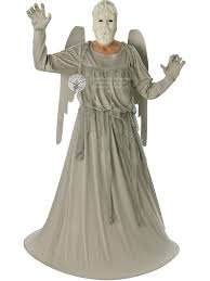 Dr Who Costume, Unisex Weeping Angel Outfit, Mens XL CHEST 42 – 46″, Womens Large (UK size 16 – 18) BUST 42″