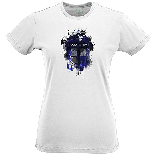 Police Public Call Box T Shirt Time Travel Space Science Fiction The Doctor Dr