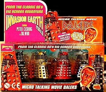Micro Talking Movie Daleks