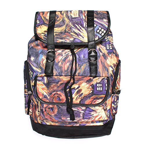 Doctor Exploding TARDIS Slouch Backpack
