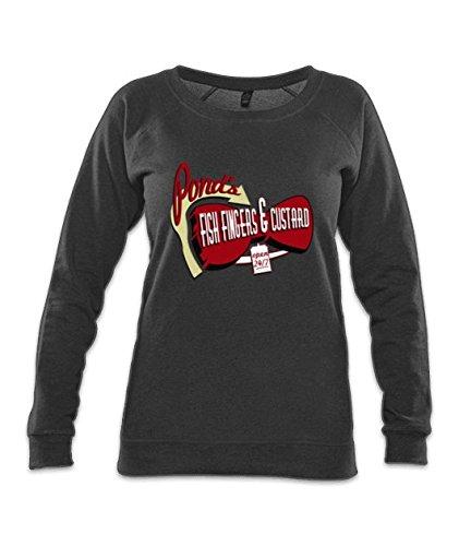 Fish Fingers & Custard Organic Raglan Sweatshirt