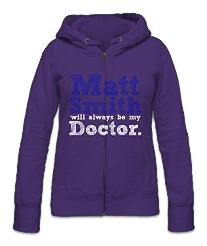 Matt Smith Will Always Be My Doctor Zipper Hoodie