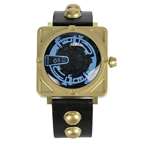 Dr Who Men's Quartz Watch with Blue Dial Analogue Display and Black Leather Strap DR193