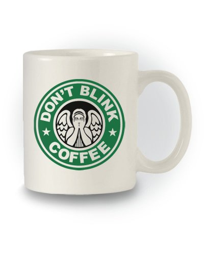 Doctor Who Sci-Fi Inspired 'Don't Blink – Coffee' Mug