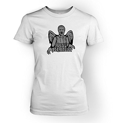 Don't Blink Weeping Angel Women's T-shirt – Films, TV And Movie Geeky Tshirt