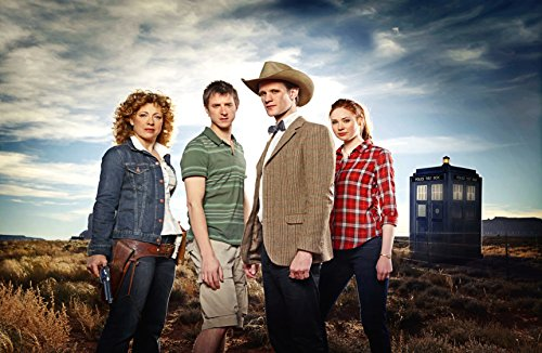 Doctor Who 11th Doctor, River Song, Amy Pond and Rory UK Imported 17″ X 11″ Poster Print