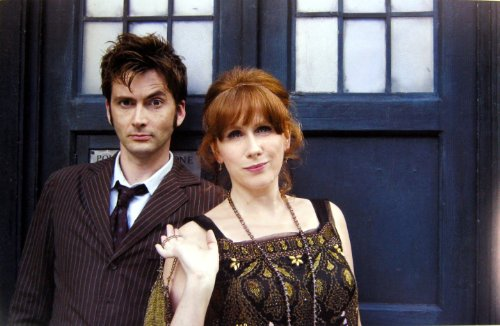 Doctor Who UK Imported 17″ X 11″ 10th Doctor With Donna Noble Poster Print