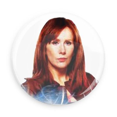 Doctor Who Donna Noble 3.0 Inch Pin Back Button