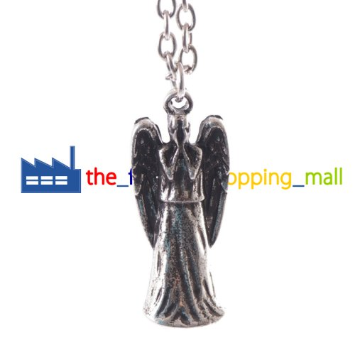 Doctor Who Weeping Angel Necklace Pendant Dr Who Jewelry