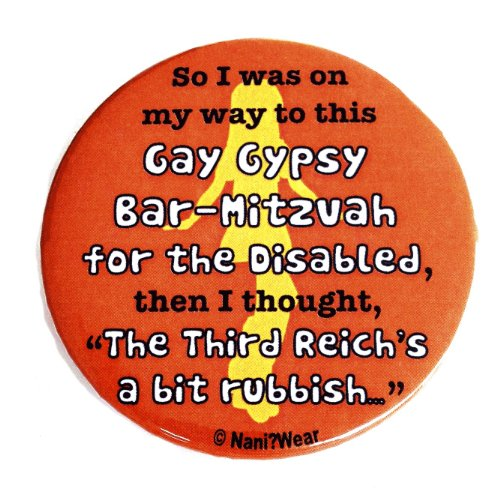 Doctor Who Button: River Song 'The Third Reich's a Bit Rubbish'