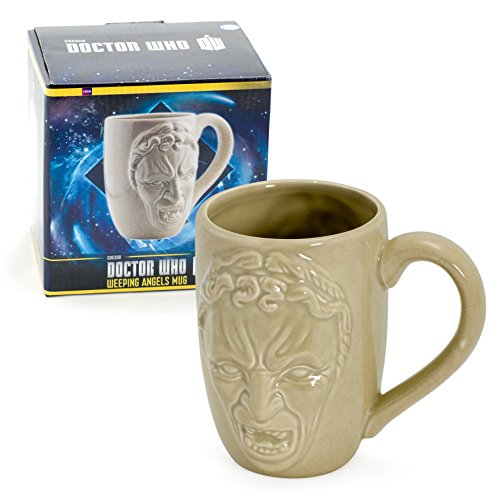 Doctor Who Mug – Dr Who Weeping Angels Coffee Cup – 12 oz