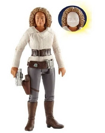 Doctor Who River Song Action Figure with The Flesh and Flesh Mask
