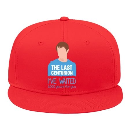 High Quality Edmundstevens Hip Hop Caps For Male/female Outdoor Activity Rory Williams The Last Centurion – Doctor Who Red Cotton