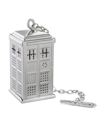 Doctor Who Tardis Tea Infuser Loose Leaf Brewing Accessory