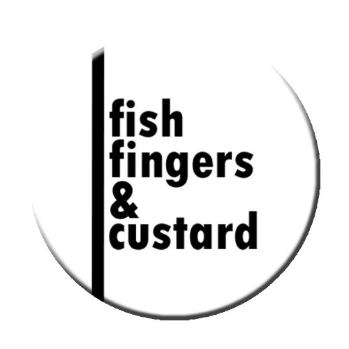 Fish Fingers and Custard Pinback Button
