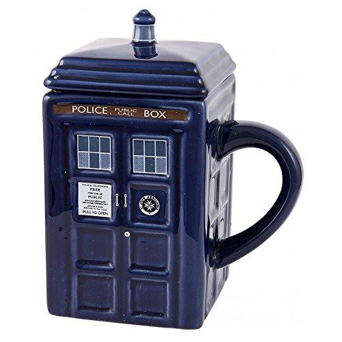 Doctor Who: Figural Tardis Mug