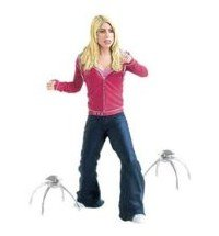 Doctor Who Series 1 Rose Tyler with 2 Robot Spiders Action Figure Set