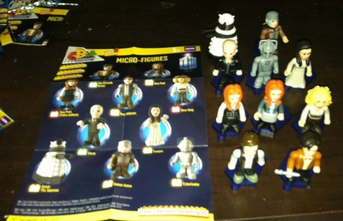 Doctor Who – Micro-Figures Complete Set of 10 Figures (Series 2)