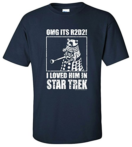OffWorld Designs Unisex OMG Loved Him Sci-fi Classic T-shirt (XL)