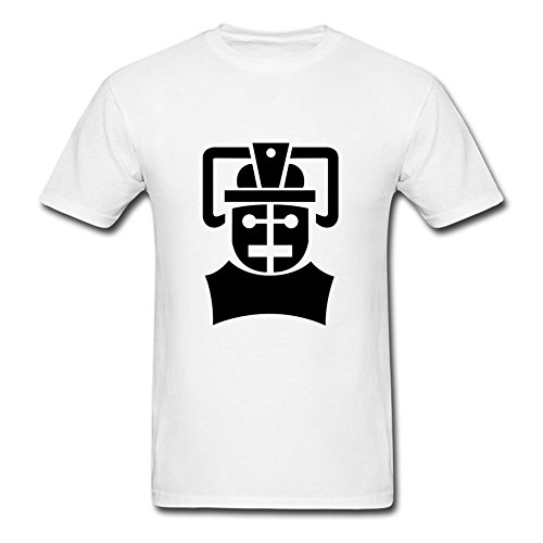 White Informal O-neck The Cybermen's Tomb Tee X-large Men Custom