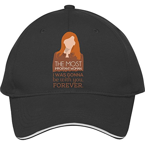 New Male/female Donna Noble The Most Important Woman – Doctor Who Adjustable Snapback Baseball Hat Cap Cotton