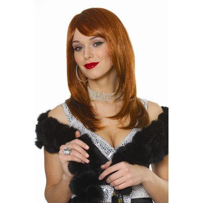 Sharon Wig in Natural Red Adult Standard